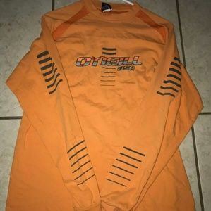 Vintage O'neill Orange Longsleeve Shirt